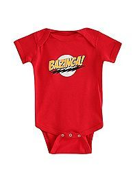 HOTTOPIC.COM - The Big Bang Theory Bazinga! Baby Bodysuit @Brittany Horton Bender AND THIS ONE!