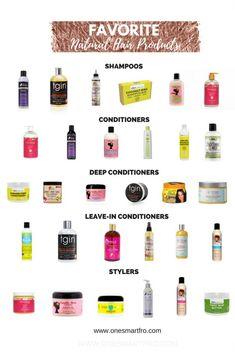 Natural Hair Care Regimen