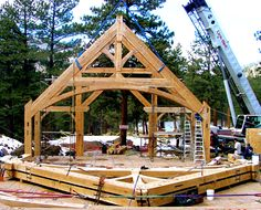 Greystone Estate, Timber Frames Commercial Project | Photo Gallery