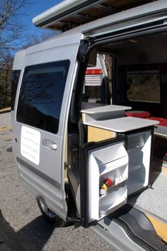 Kevin Fitzpatrick's Ford Transit Connect conversion ~ Great video on link.