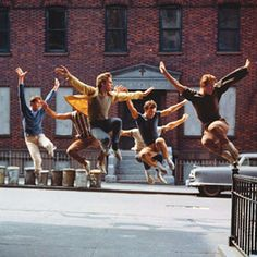 West Side Story - jets!