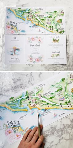 Rustic and Woodland Watercolor Wedding Invitation: Lake Tahoe Italian Wedding Invitations, Rustic Wedding Stationery, Map Wedding Invitation, Christmas Wedding Invitations, Illustrated Wedding Invitations, Invitation Design, Bohemian Wedding Invitations, Stationery Design, Invitation Cards