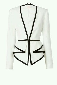 Nappalra, elegáns, blézer, Sass & Bide Two Dimensions Tailored Jacket With Peplum Detail Business Outfit, Business Casual, Tailored Jacket, Jackett, Work Attire, Mode Style, Passion For Fashion, Work Wear, Ideias Fashion
