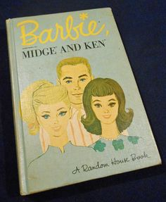 Vintage Barbie Book Barbie Barbie Ken Midge by ShellbelsVintage