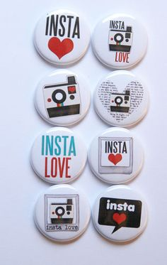 Insta Love Flair by Aflairforbuttons  #StudioCalicoPinToWin