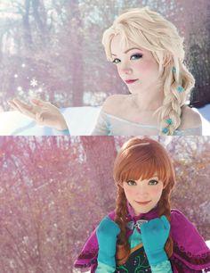 Anna and Elsa II