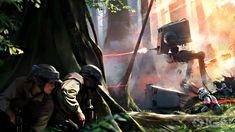 VIDEO GAMES: Stunning New STAR WARS BATTLEFRONT Concept Art Revealed