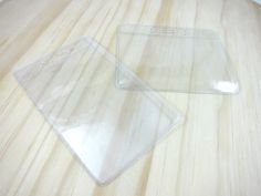 Hey, I found this really awesome Etsy listing at https://www.etsy.com/listing/84241462/clear-vinyl-id-card-holder-badge-holder