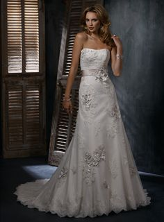 Maggie Sottero Geneva  Call us for an appointment! 360.943.9860
