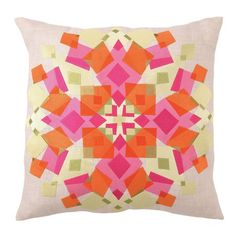 I pinned this Kaleidoscope Embroidered Pillow in Red and Orange from the Trina Turk & D.L. Rhein event at Joss & Main!