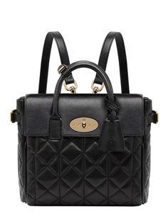 Cara Delevingne Mini Leather Backpack