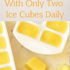 How to Prepare Frozen Lemon Cubes? Your Immune System Will Thank You