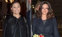 Expectant Princesses Victoria and Sofia mark Holocaust Memorial Day in Stockholm