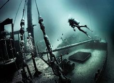 #47 Go scuba diving in a sunken ship. Seeing the ship decaying underwater and being connected to the history of the ship that way would be stunning.
