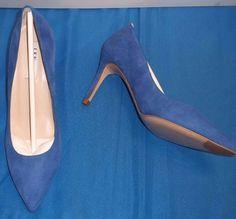 Ladies L.K. Bennett Floret Ocean Suede Court Shoes Size 6 / 39 BNIB in Clothes, Shoes & Accessories, Women's Shoes, Heels   eBay!