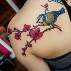 50+ Shoulder Tattoo For Woman:Holy Art Ridge - Beautiful Nature Birds Tattoo