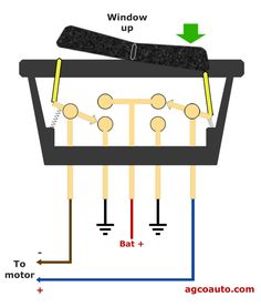 Gm hei distributor and coil wiring diagram yahoo image search the power window switch in the at rest position fandeluxe Choice Image