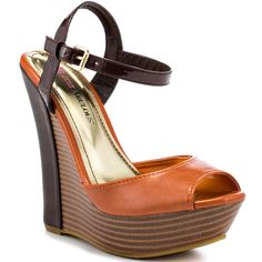 Hortense - Orange  JustFab