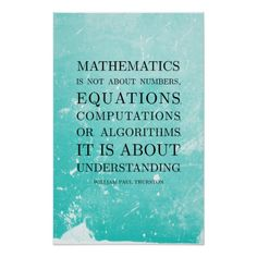 Shop Quote by Thurston - Math Posters created by ThalassaStudios. Personalize it with photos & text or purchase as is! Math Quotes, Classroom Quotes, Gift Quotes, Classroom Decor, Classroom Teacher, Classroom Posters, Math Poster, Shopping Quotes, Math Art