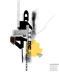 Typographic Posters by Amanda Mocci, via Behance