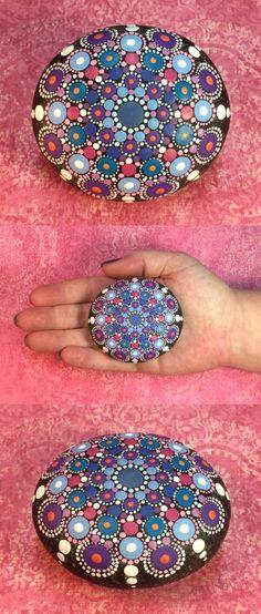 Resultado de imagen para mandalas en piedras decoracion