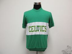 Vtg 70s 80s Logo 7 Boston Celtics Short Sleeve t Shirt sz L Large Basketball NBA #Logo7 #BostonCeltics