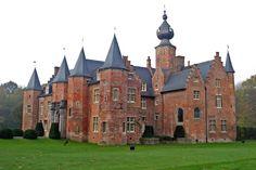 Kasteel van Rumbeke~Rumbeke Castle is a historical building in Rumbeke in West Flanders, Belgium, one of the oldest Renaissance castles in the country.