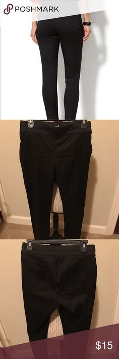 New York & Company Soho Jeans New York & Company Soho Jeans; High Waist Pull On Leggings; Good Condition; Black; like new New York & Company Pants Leggings