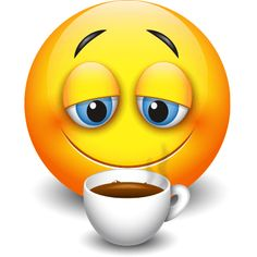 Is there anything better than a fresh, hot cup of coffee? Funny Emoji Faces, Emoticon Faces, Love Smiley, Emoji Love, Animated Emoticons, Funny Emoticons, Emoji Images, Emoji Pictures, Stickers Emojis