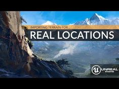 Importing Real World Locations Into Unreal Engine 4 - Beginners Tutorial UE4 - YouTube