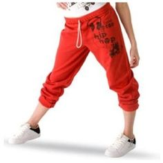 Hip hop pants really comfy and fun to dance in.