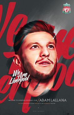 ♠ Welcome to #LFC Adam Lallana