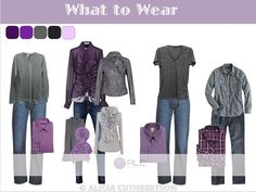 Purple is not only my favorite color but a great color to wear for your 2013 fall photo shoot. ~ALC Photography Blog