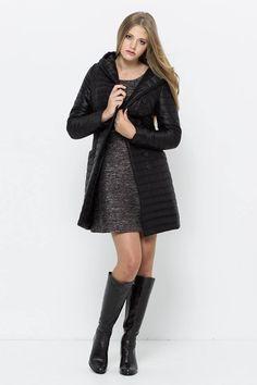 pikowany płaszcz, kurtka VISSAVI
