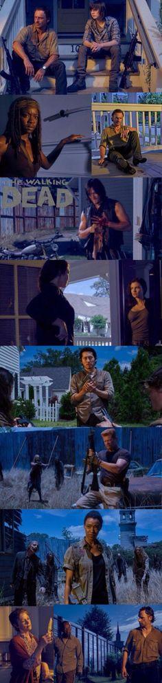 The Walking Dead Season 6 portraits!!!!