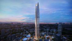 's Werelds eerste energie neutrale wolkenkrabber van 99 verdiepingen