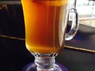 Butternut squash isn't just for dinner. At Center Bar in New York City, chef/owner Michael Lomonaco makes it into a syrup for a  butternut hot toddy .
