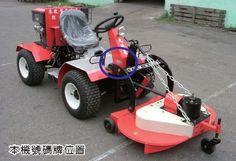 ◆ 大地菱牌東改型TRM-980型  ◎適用作物範圍:果園栽培管理   馬力:16HP