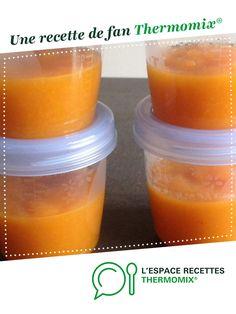 compote pomme abricot par stephrou. Une recette de fan à retrouver dans la catégorie Alimentation pour nourrissons sur www.espace-recettes.fr, de Thermomix<sup>®</sup>.