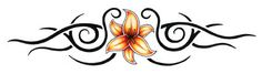 Tribal Passion Flower Band Temporary Tattoo Temporary Tattoo - Medium 1.5 x 5.5ins (3.75 x 14cm)approx For the summer girl's party in the sun wearing our pretty Tribal Passion Flower Band temporary tattoo around your arm, wrist, ankle or even lower back.  Our arm temporary tattoos look just like real tattoos and last for ages Tattoo design by 'TattooWoo': TattooWoo Tattoo Fashion price: £2.10 / $3.59 (Excluding VAT at 20%)