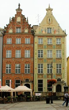 Old city houses, Poland