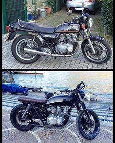"61 mentions J'aime, 7 commentaires - Maurizio Carriero (@mauri.car25) sur Instagram: ""#caferacer #bratstyle #suzuki #gs650gt #suzukicycles #suzukiitalia #chopper #como #comolake…"""