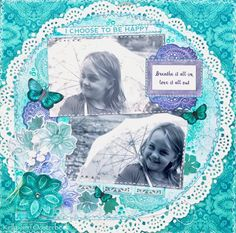 A Layout by Kelly-ann Oosterbeek made using the Ubud Dreams Collection from Kaisercraft. www.kellyanno.com Photo Layouts, 2 Photos, Ubud, Scrapbooking Layouts, Cute Girls, Chloe, Ann, Sisters, Paper Crafts