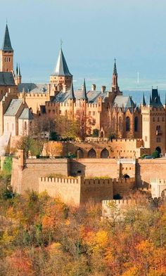 Hohenzollern Castle, Stuttgart Germany - I think I blew my chances to visit here when I was in Munich. Regret!