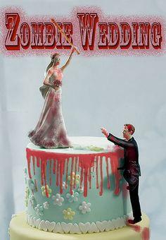 Zombie Wedding Cake | Zombie wedding cake toppers? ?