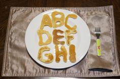 Fun Alphabet Pancakes