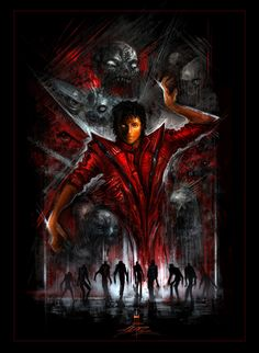 "Michael Jackson ""Thriller"" art by AlexRuizArt on deviantART"