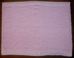 back a single knit blanket with flannel