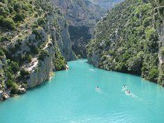 GORGES DU VERDON (sureste de Francia)