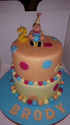 Henry Hugglemonster cake. Mrs B's classy cakes. Facebook